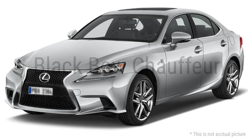 Hire Fleet Lexus Lexus For 4 Passengers Black Bow Chauffeur